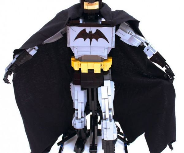 Articulated LEGO Batman Looks Like Robocop: Roboman?