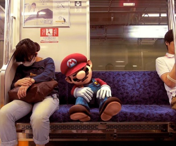 Watch As Mario Travels Through Tokyo