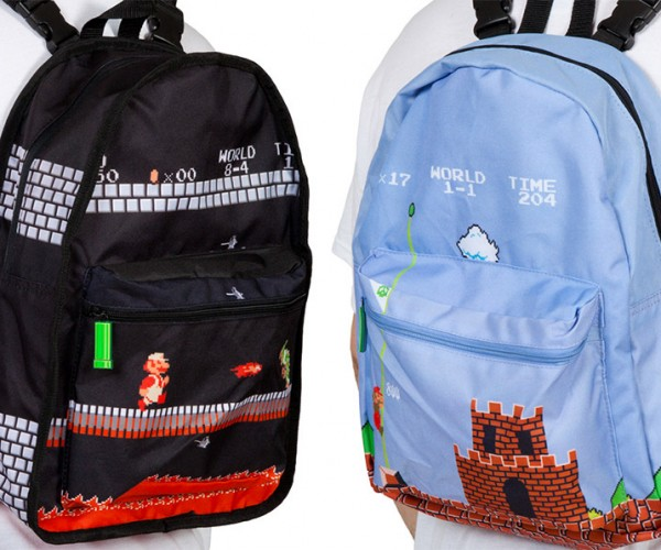 Mario Reversible Backpack Holds All Your Mushrooms and Coins