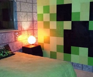 Minecraft Room is a Blocky Bunch of Awesome