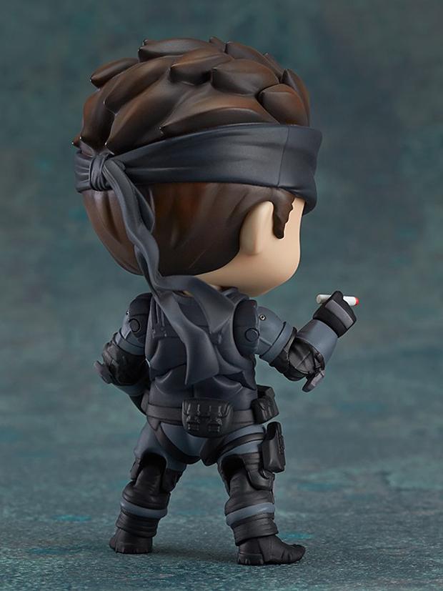 metal gear solid snake nendoroid action figure by good smile 3