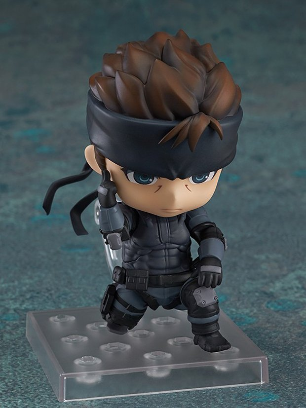 metal gear solid snake nendoroid action figure by good smile 5