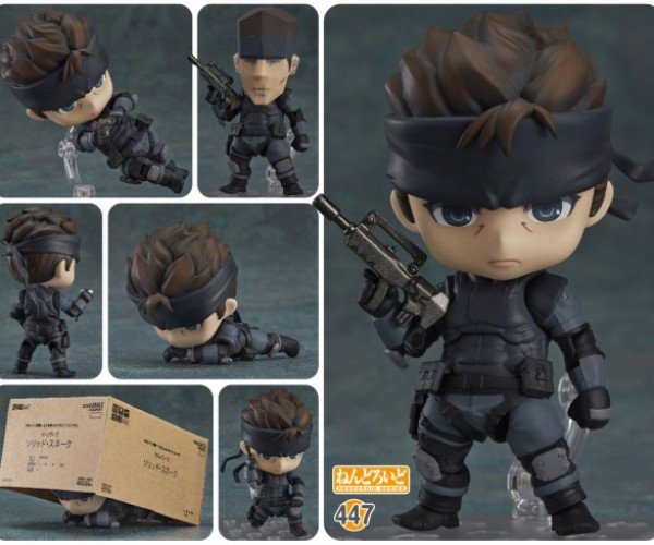 Metal Gear Solid Snake Nendoroid: Clone this Cutie