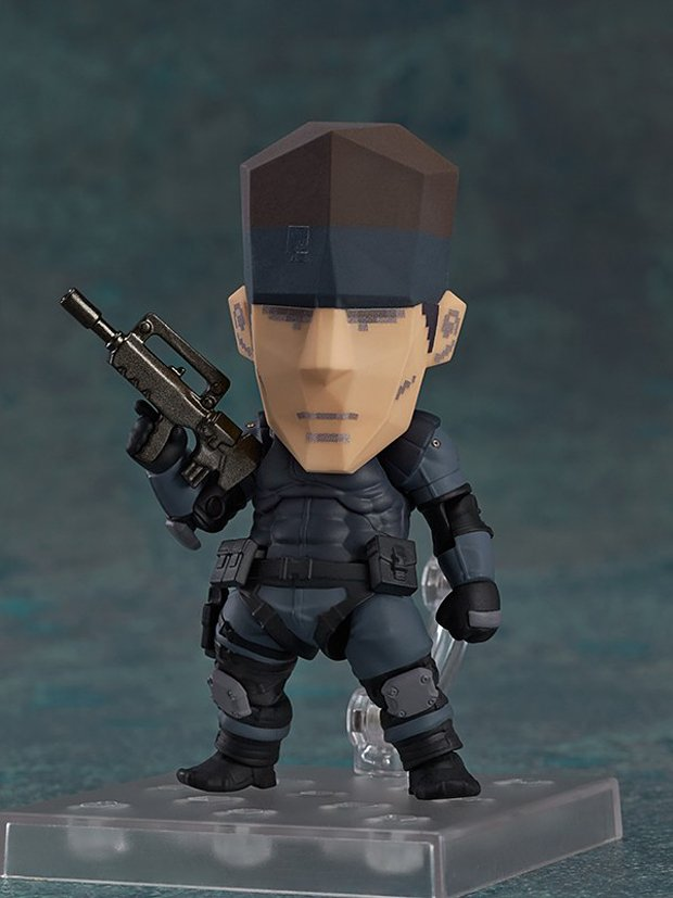 metal gear solid snake nendoroid action figure by good smile 8