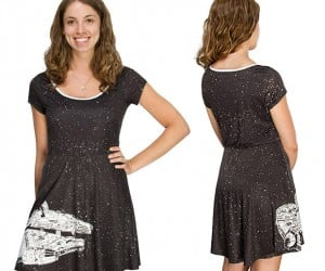 Millennium Falcon Dress Has Got it Where it Counts
