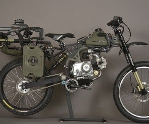 This Mountain Bike/Motorcycle Is Your Ride During the Zombie Apocalypse
