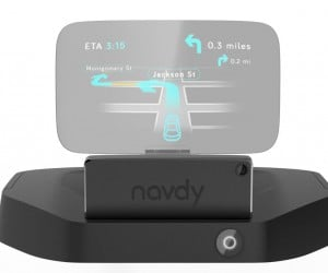 Navdy HUD for Cars Helps Keep Eyes on the Road