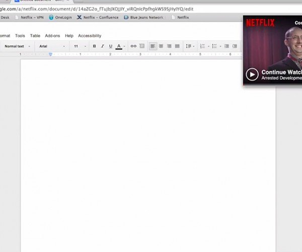 Chrome Extension Lets You Watch Netflix in a Small Window: The Death of Productivity