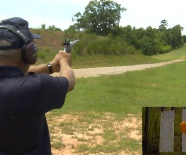 Guy Hits Target from 1,000 Yards… with a Revolver