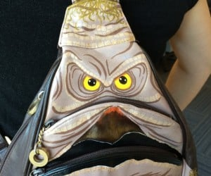 Salacious Crumb Leather Purse: Where Jabba Keeps His Makeup