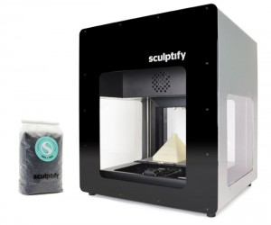Sculptify David 3D Printer Uses Pellets Instead of Filaments: Pew Pew Print