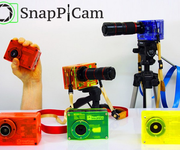 SnapPiCam Raspberry Pi Digital Interchangeable Lens Camera Hits Kickstarter
