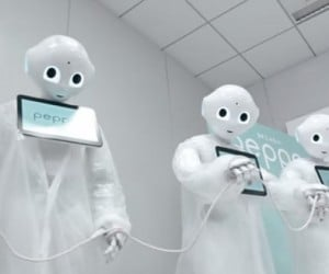 SoftBank Takes the Ice Bucket Challenge, with Help from Robots