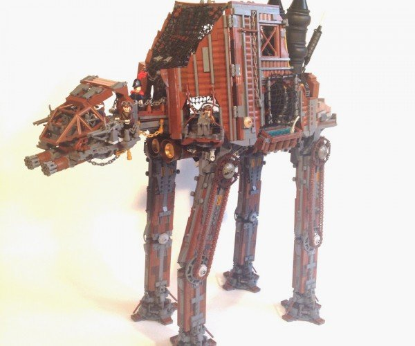 Steampunk LEGO AT-AT: The Empire Steams Back