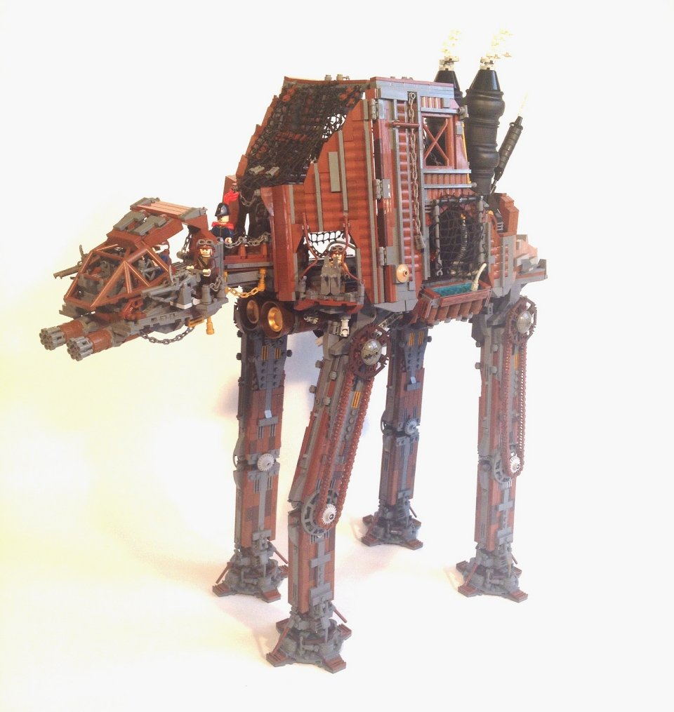 Gmc Round Rock >> Steampunk LEGO AT-AT: The Empire Steams Back