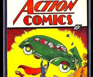 First Superman Comic Sells for $3.2 million on eBay