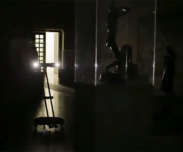 Robots Let You Visit Art Museum without a Crowd