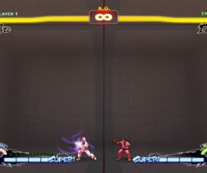 Ultra Street Fighter IV Ultra Combos in Static Camera: Super Hyper Turbo Interesting EX SD Remix