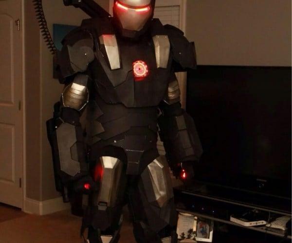3D Printed War Machine Costume: War Machined