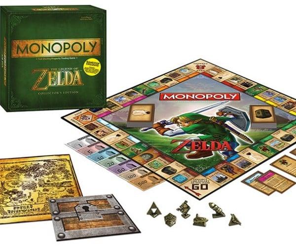 The Legend of Zelda Monopoly: It's Dangerous to Pass GO Alone