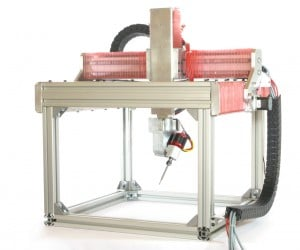 5axismaker Multi-fabricator: Mill, Scan, Print, Spray & Cut