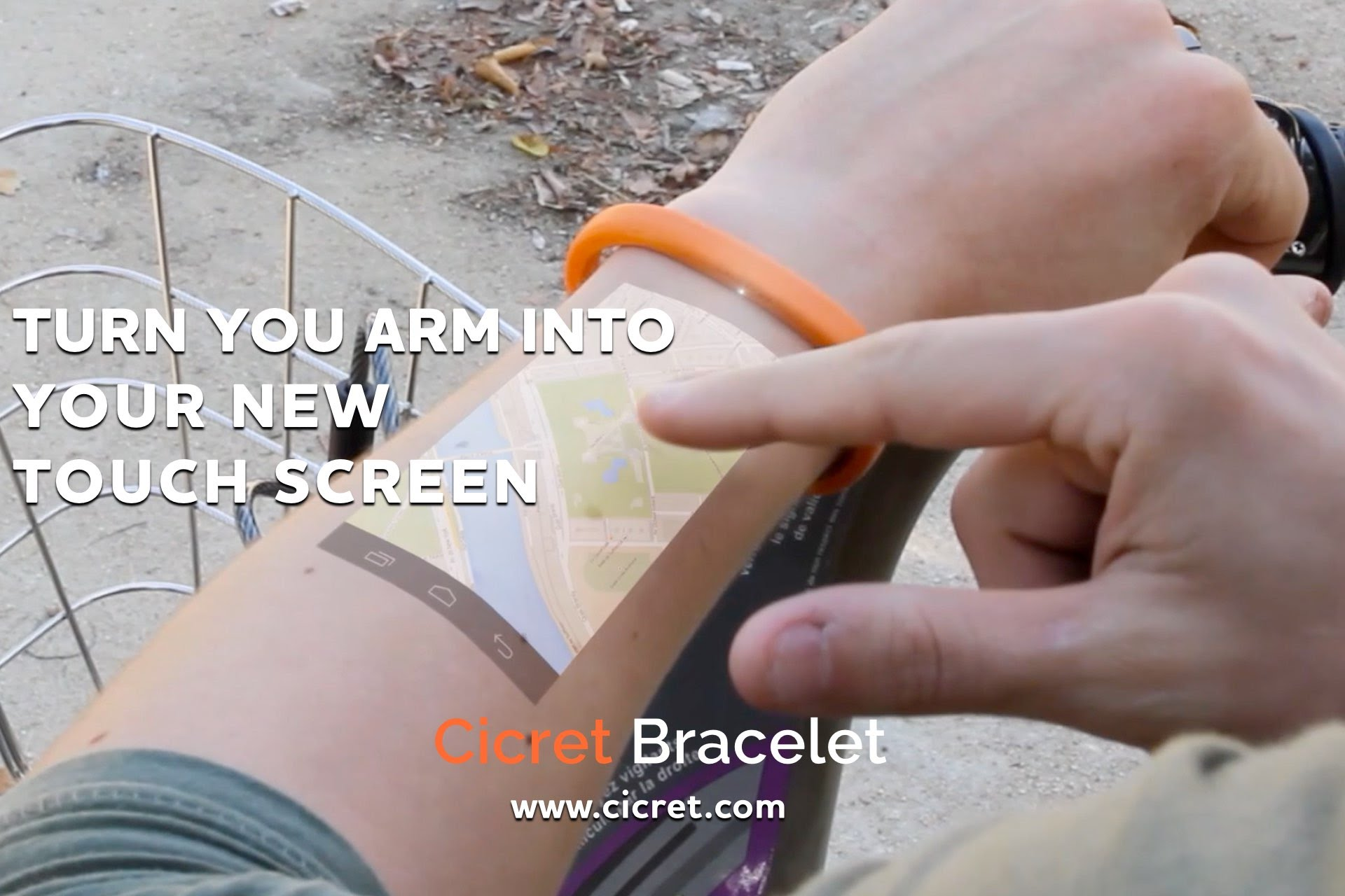 Cicret Smart Bracelet Projects Your Phone S Display On Arm Remote Armtop