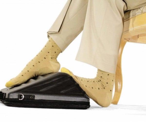 Leggage Carries Laptops, Massages Feet