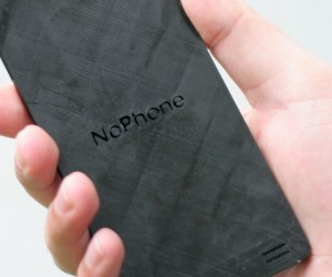 noPhone is the Non-Phone That Pushes You to Interact In the Real World