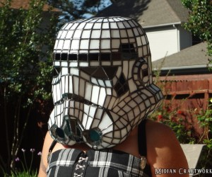 Stormtrooper Helmet Lamp: Aren't You a Little Bright to Be a Stormtrooper?