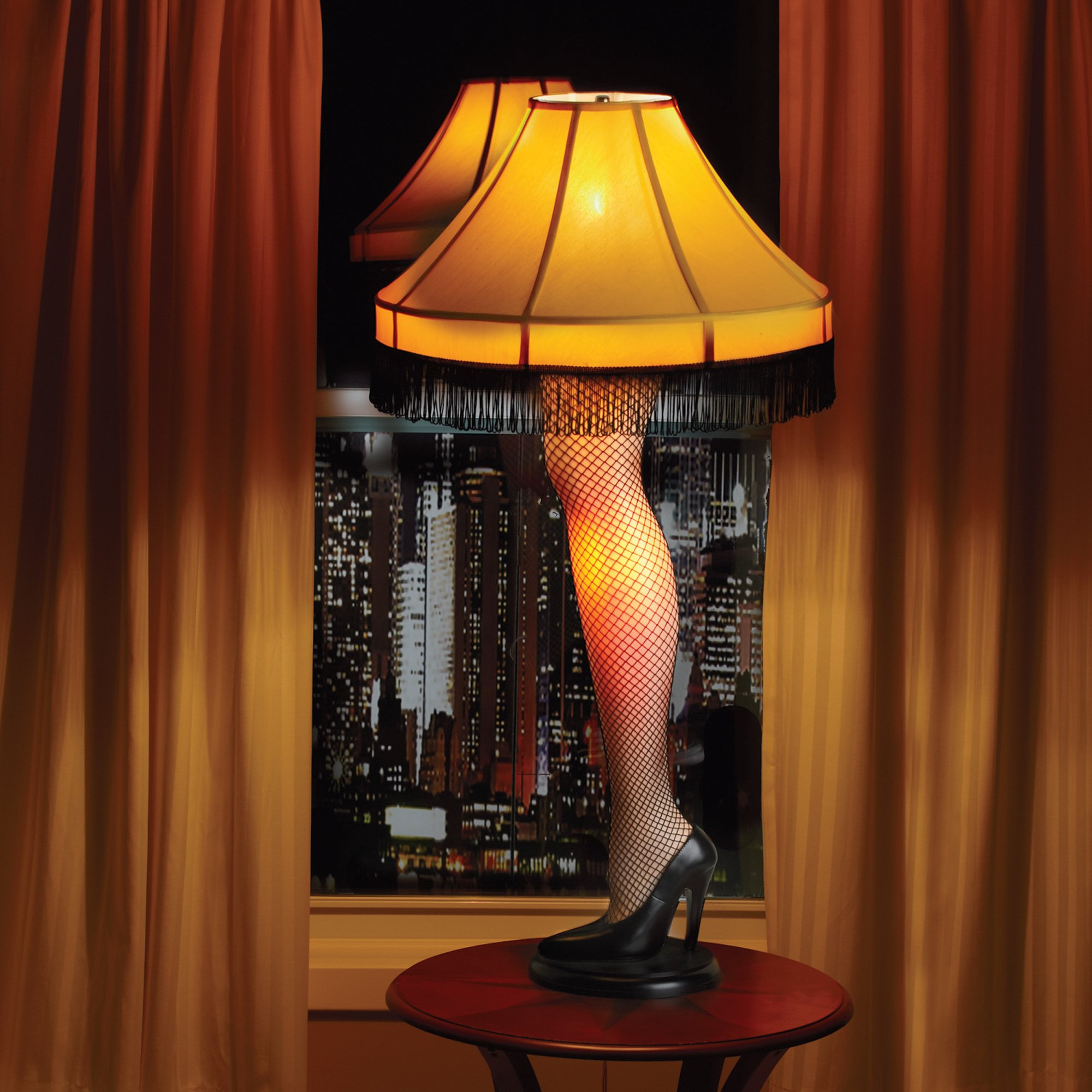 Amputated Leg Lamp WARNING Creepy Photo