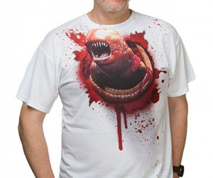 Xenomorph Chestburster Shirt is My Kind of Costume