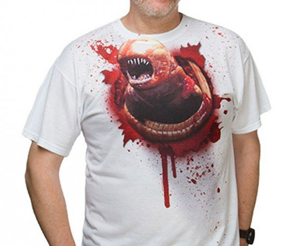 Xenomorph Chestburster Shirt is My Kind of Costume