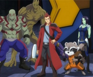 Guardians of the Galaxy Anime Headed to Japan