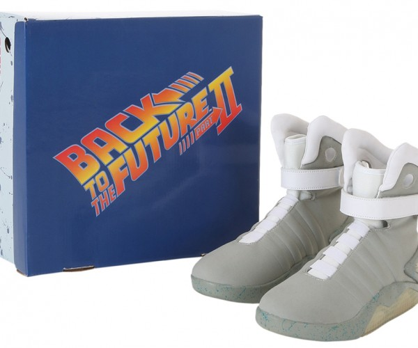 Back to the Future 2 Nike MAG Replicas: Not So Heavy (on the Wallet)