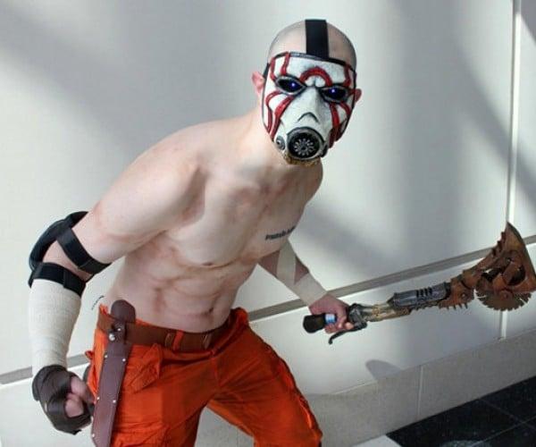 Go Insane with this Borderlands Psycho Bandit Mask