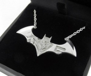 Batman 75th Anniversary Batarang Necklace