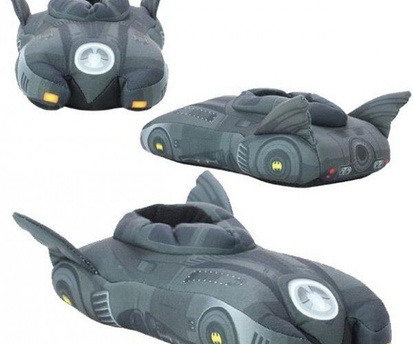 Batmobile Slippers: The Comfy Shoes Your Feet Deserve