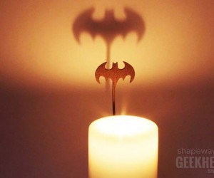 Batman Candle Shadowcaster Lets you Call the Caped Crusader