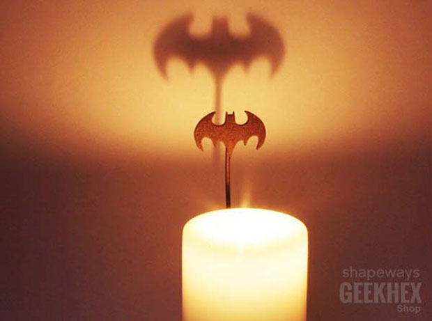 Batman Candle Shadowcaster Lets you Call the Caped Crusader - Technabob