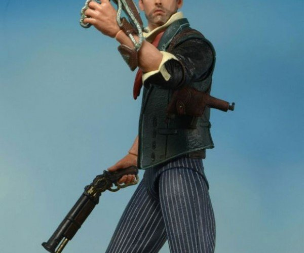 BioShock Infinite Booker DeWitt Action Figure Has the Look of Constant Surprise