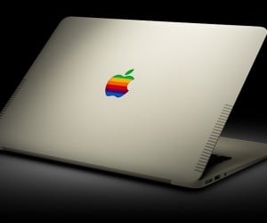 ColorWare MacBook Air Retro Barely Has Any Color on It