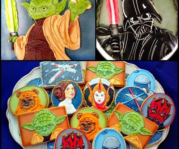 Star Wars Cookies: A Long Time Ago, in a Tummy Far, Far Away
