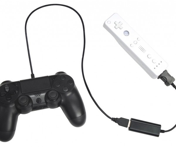 Cyber Gadget Adapter Lets You Use PS3 & PS4 Controllers on Wii & Wii U: QuadShock