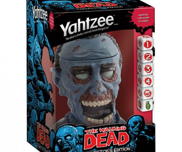 Walking Dead Yahtzee Has a Walker Dice Cup