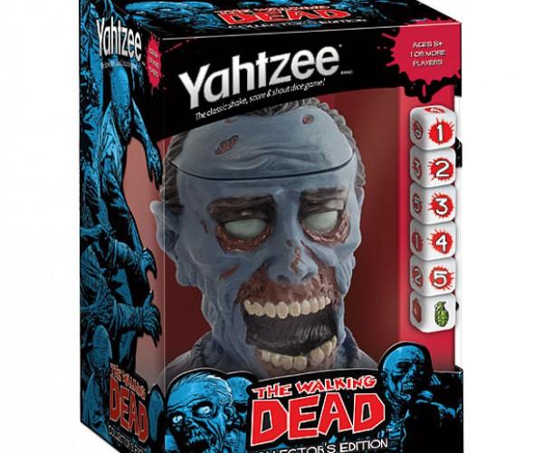 Walking Dead Yahtzee Has a Walker Dice Cup