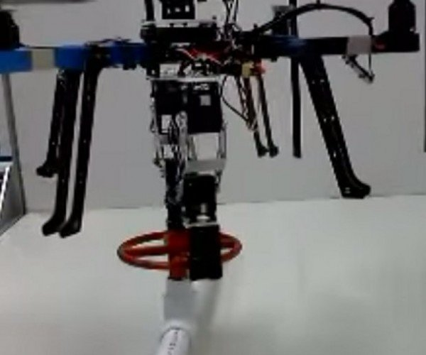 This Drone with Arms Can Turn a Valve