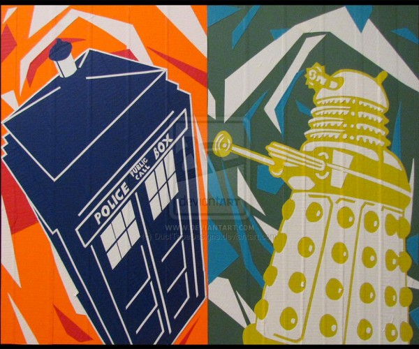 Artist Makes Awesome Pics from Duct Tape