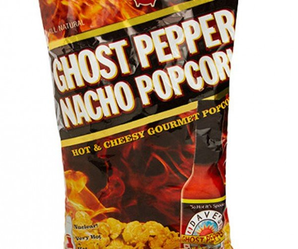 Ghost Pepper Popcorn: Hated by Sphincters Everywhere