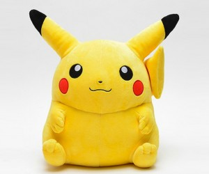 Life-size Pikachu Can't Shock You, But It Might Sit on You