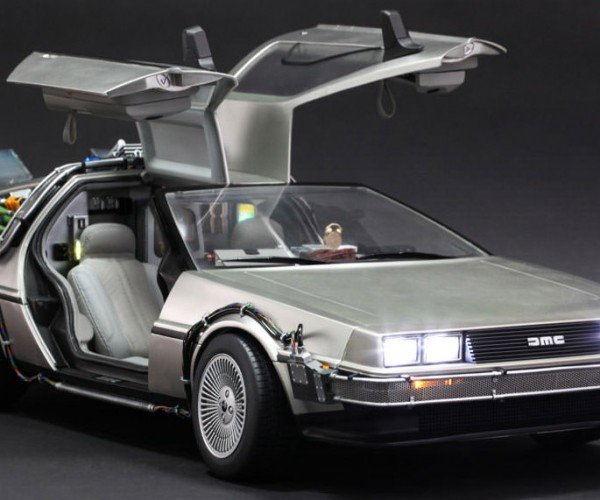 Hot Toys 1/6th Scale Back to the Future DeLorean Brings Goes Back to the 80's